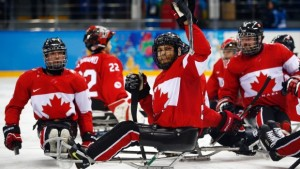 canadian Sled hockey